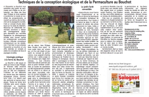 article petit solognot