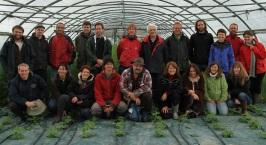 visite de la ferme Sainte Marthe avec Philippe Desbrosses
