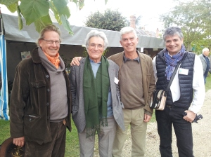 Jean-Philippe Beau-Douezy, Philippe Debrosses, Charles Hervé Gruyer et Tarik Chekchak