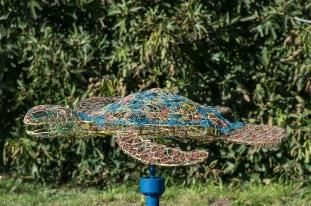 les sculpture de fil de Gwen